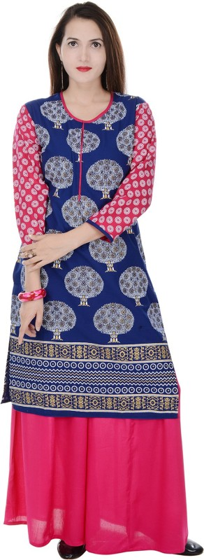 Raaz Women Kurta and Palazzo Set
