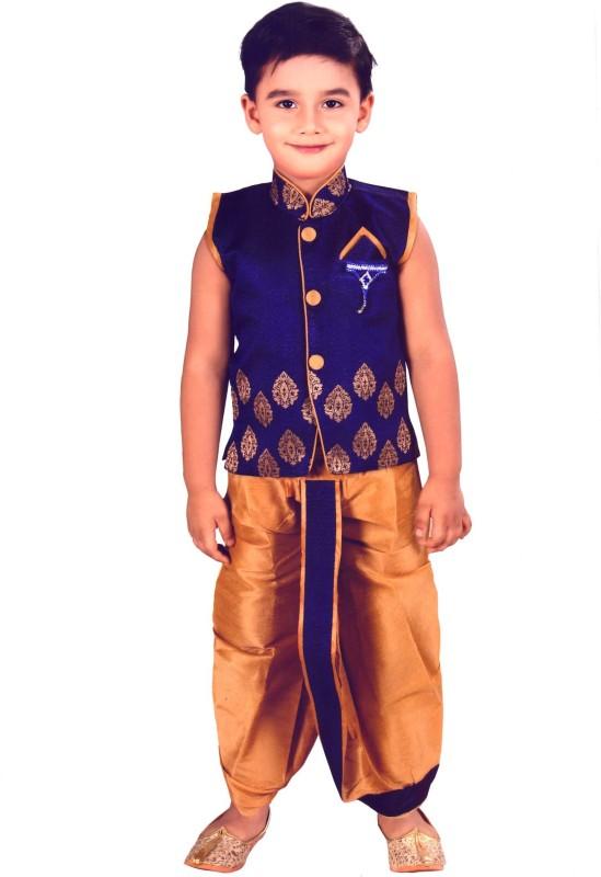 Hey Baby Boys Dhoti & Kurta Set