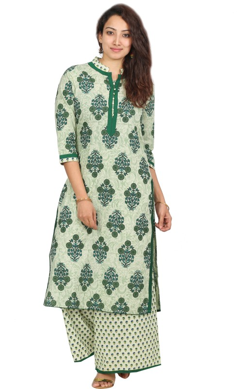 Desi Vibe Women Kurta and Palazzo Set