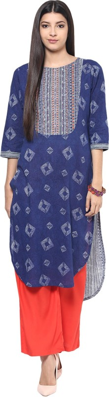 Jaipur Kurti Women Kurta and Palazzo Set