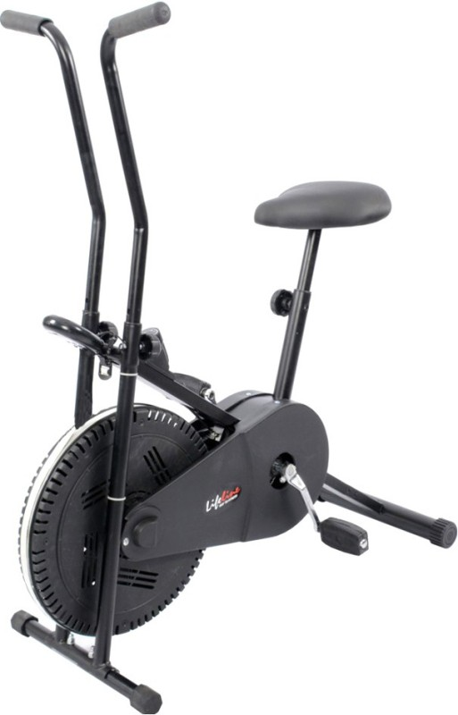 Lifeline Exercise cycle with cooling fan wheel 102 Indoor Cycles Exercise Bike(Black)