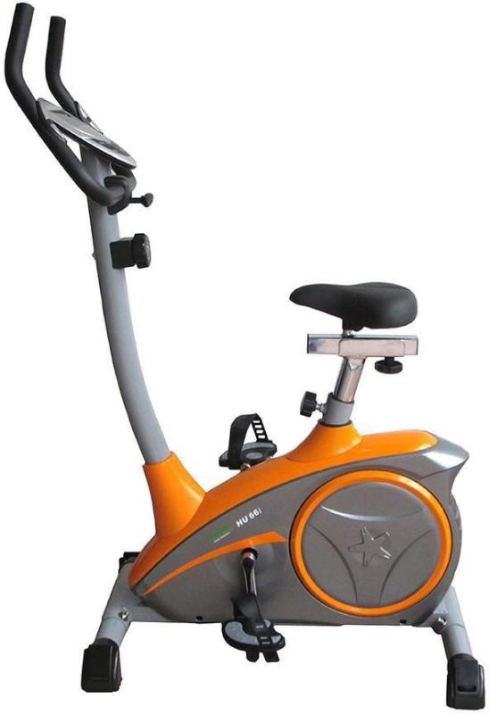 Propel HU66i Upright Stationary Exercise Bike(Orange, Grey)