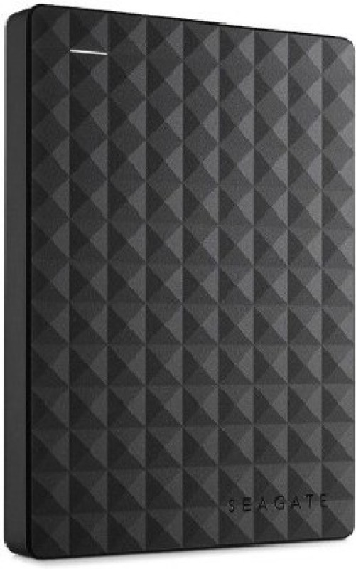 Segate 1 TB Wired External Hard Disk Drive(Black) image
