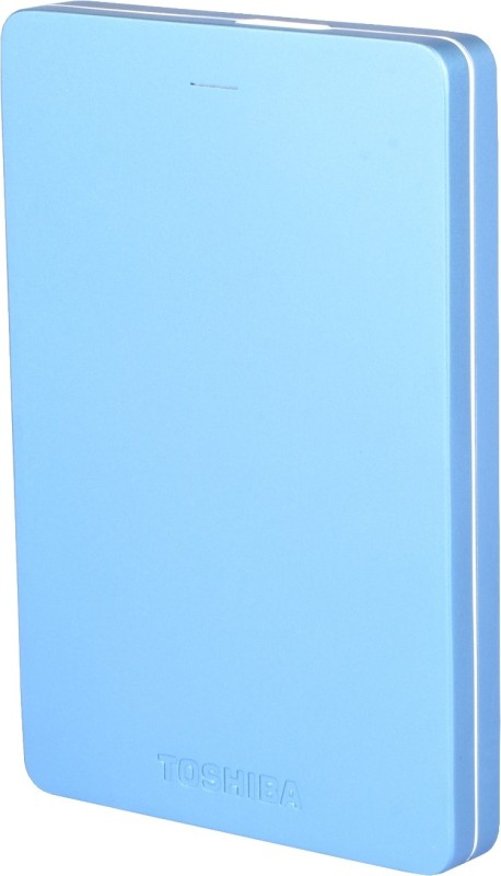 Toshiba Canvio Alumy 1 TB Wired External Hard Disk Drive(Blue)