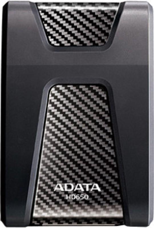Adata HD650 1 TB External Hard Disk Drive(Black) image