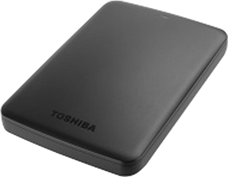Toshiba Canvio Basic 1 TB External Hard Disk(Black)