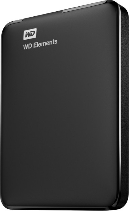 WD Elements 1 TB External Hard Drive(Black)