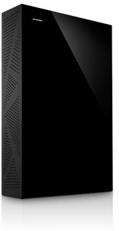 Seagate 4 TB Wired External Hard Disk Drive(Black, Mobile Backup Enabled, External Power Required)