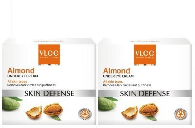 VLCC Natural Sciences Skin Defense Almond Under Eye Cream - Pack of 2(30 ml)