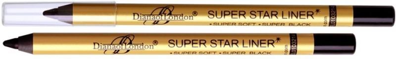 Diana Of London Super Star Waterproof Eyeliner 1.2 g(Super Black)