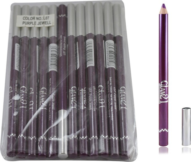 Glam 21 PURPLE GLIMMERSTICKS FOR EYES & LIPS PACK OF 12PCS-GT 1.8 g(PURPLE-GT1)