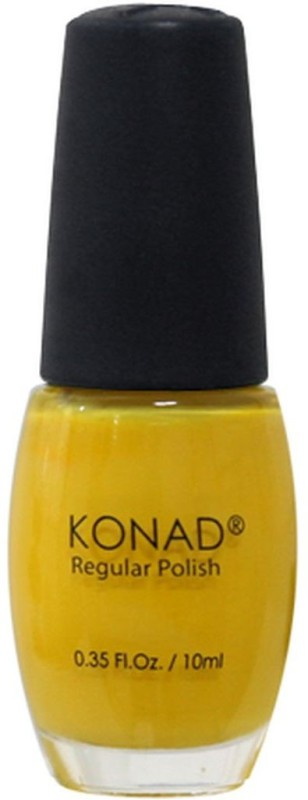 Konad Regular Nail Polish 10 ml(Solid Yellow - R21)