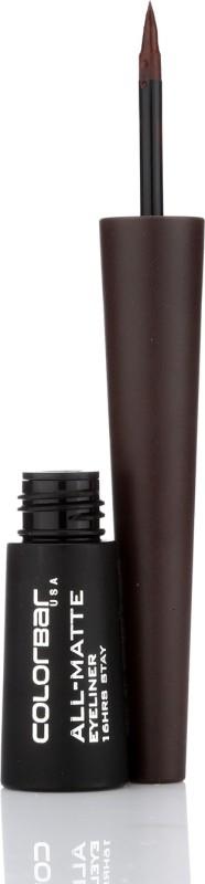 Colorbar All Matte Eyeliner 2.5 ml(Matte Brown - 002)