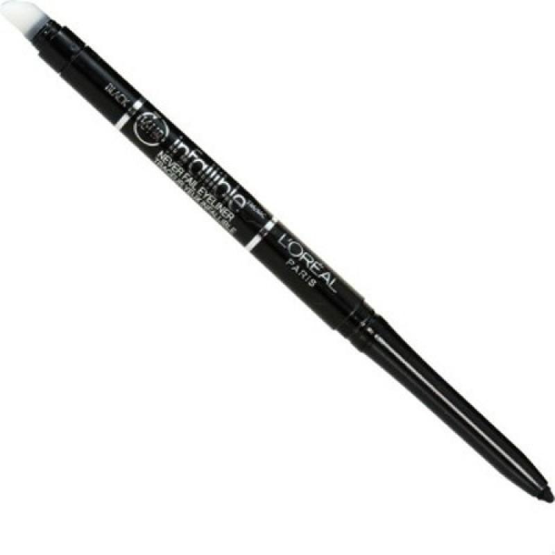L'Oreal Paris Infallible 16hr Never Fail Eye Liner 0.24 g(Black)