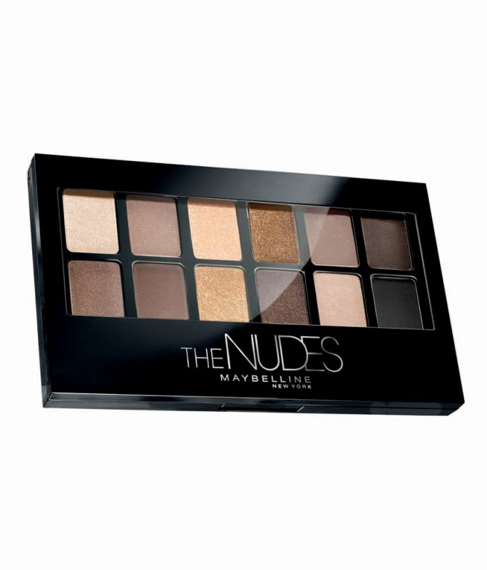 Maybelline The Nudes Eye Shadows Palette 9.6 g(Multicolor) The Nudes Eye Shadows Palette