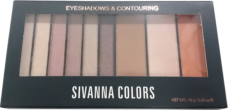 Sivanna Eyeshadows And Contouring 18 g(Brown Light Brown 01)