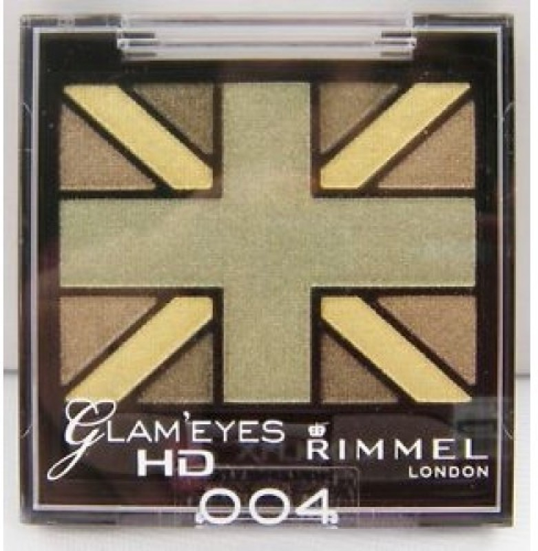 Rimmel London Glam Eyes Quad Eye Shadow 2.5 g(Green Park-004)