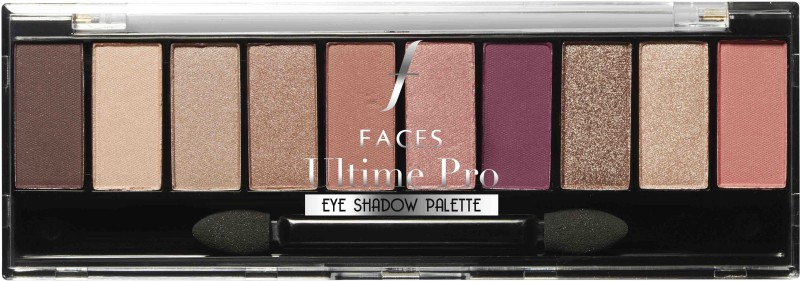 Faces Ultime Pro Eyeshadow Palette Rose 02 10 g(Rose 02)