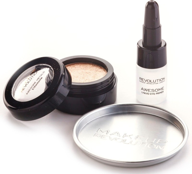 Makeup Revolution Awesome Metals Eye Foils with Primer 1.5 g(Rose Gold)