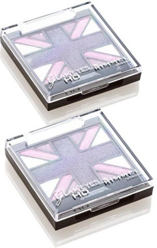 Rimmel London London Glam Hd Shadows Purple Reign 6 3 g(Shadow)
