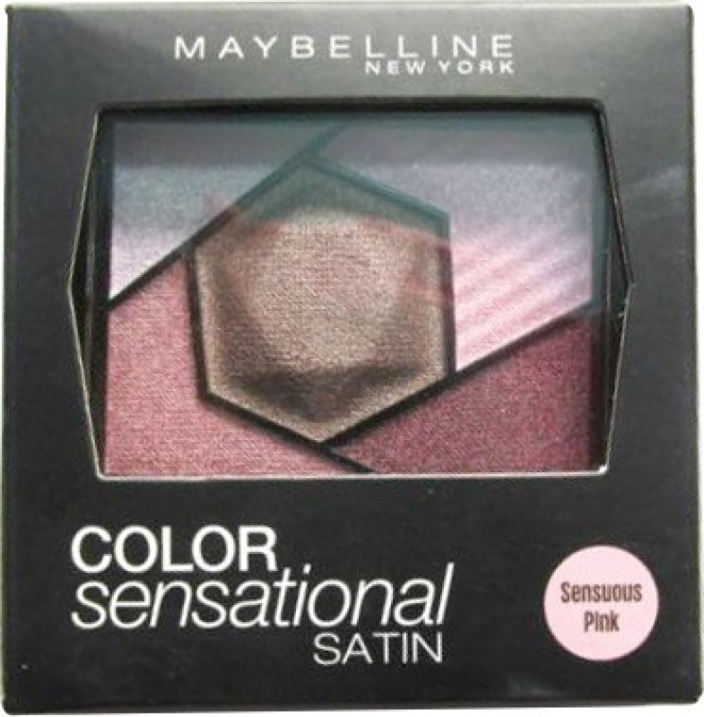 Maybelline Colosensational Satin 3D Eye Shadow Palette 2.4 g(Sensuous Pink)