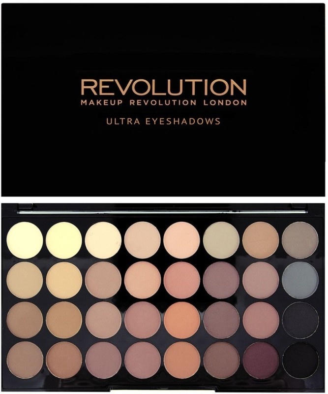 Makeup Revolution London Ultra Eyeshadows 16 g(Matte Flawless)