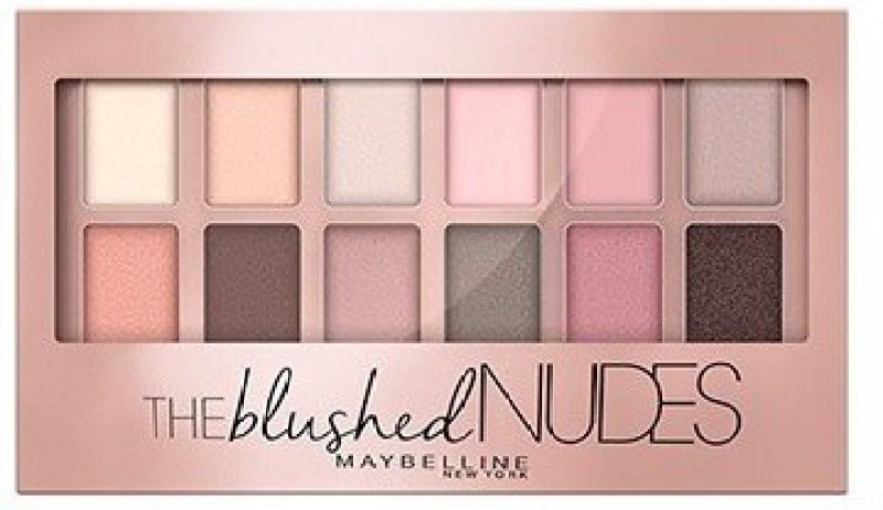 Maybelline The Blushed Nudes Palette 9 g(MULTICOLOR)