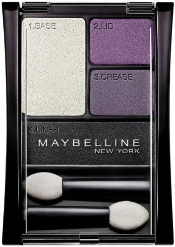Maybelline Expert Wear Eyeshadow Quads, 06Q Amethyst Smokes 2 g(06Q Amethyst Smokes) Expert Wear Eyeshadow Quads, 06Q Amethyst Smokes