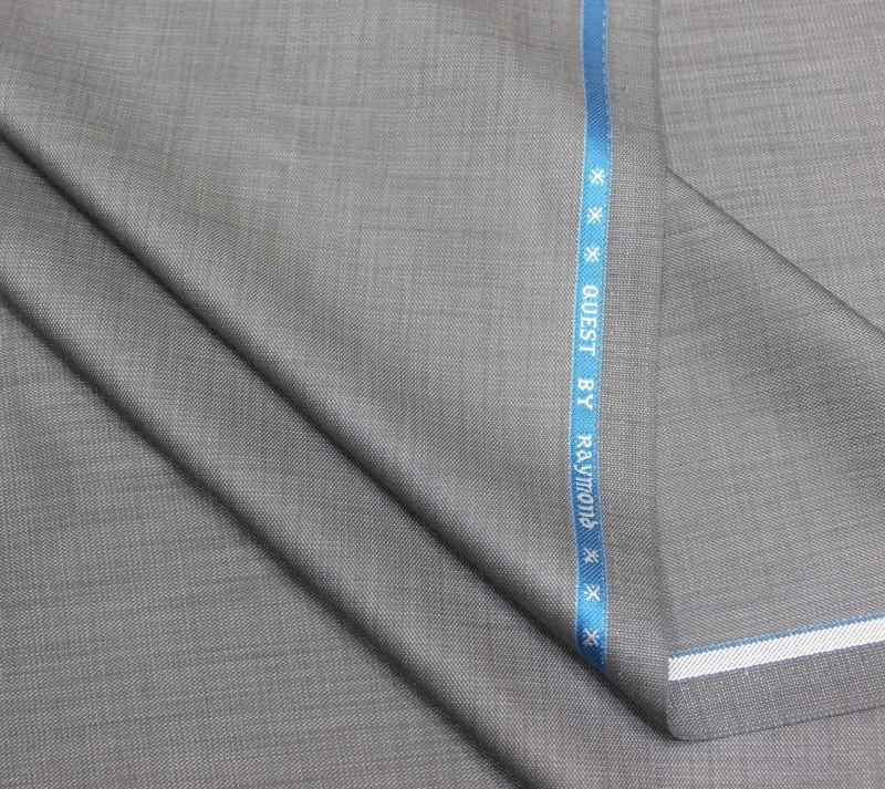 Raymond Polycotton Self Design Trouser Fabric(Unstitched)