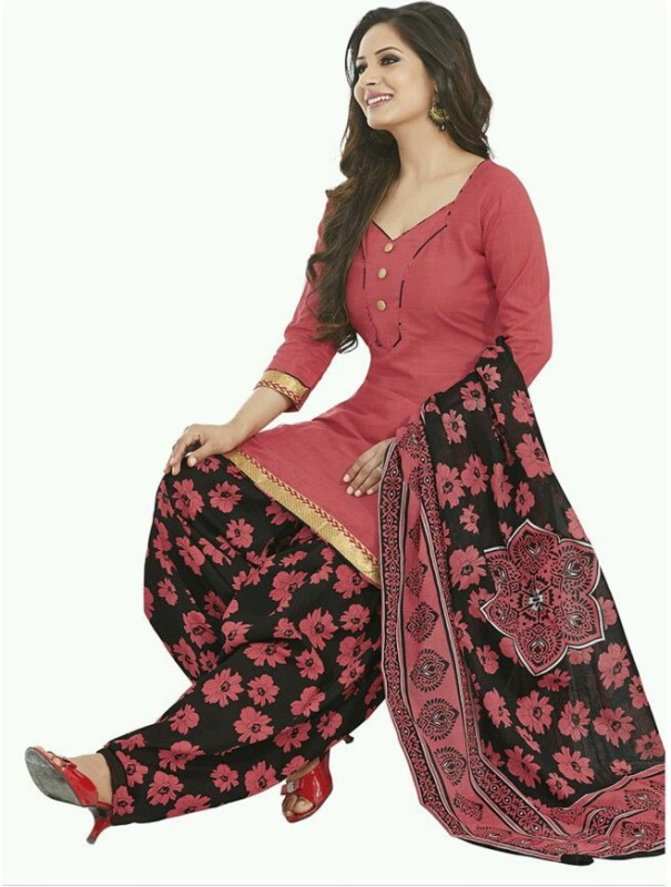 Fashion Valley Cotton Printed Salwar Suit Dupatta Material(Un-stitched)