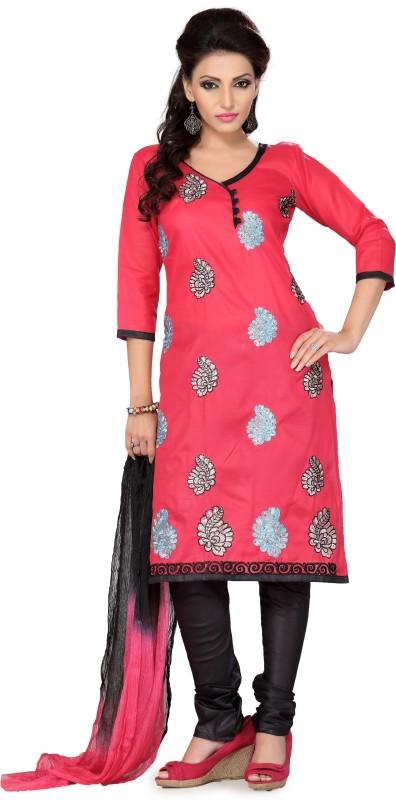 Ishin Self Design Kurta & Churidar(Stitched)