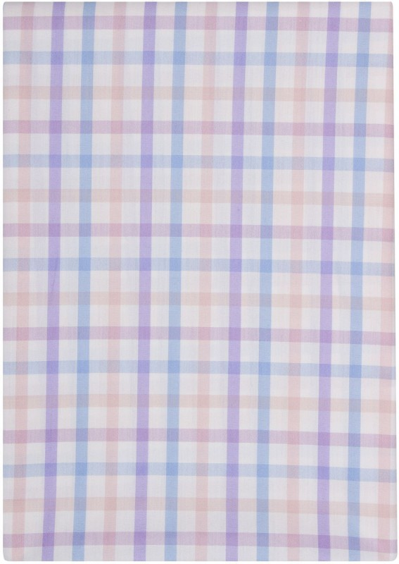 Just Henry Cotton Checkered Shirt Fabric(Un-stitched)