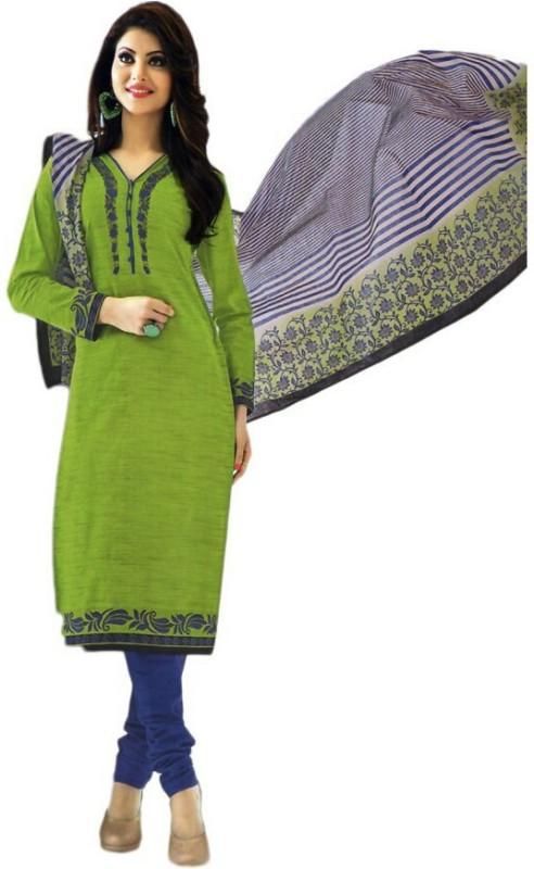 Sharvi Cotton Printed Salwar Suit Dupatta Material(Un-stitched)