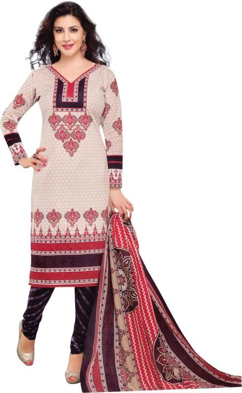 b6de7a053b Giftsnfriends Cotton Blend Printed Salwar Suit Material(Unstitched)