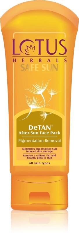 Lotus HERBALS SAFE SUN DeTAN After-Sun Face Pack(100 g)
