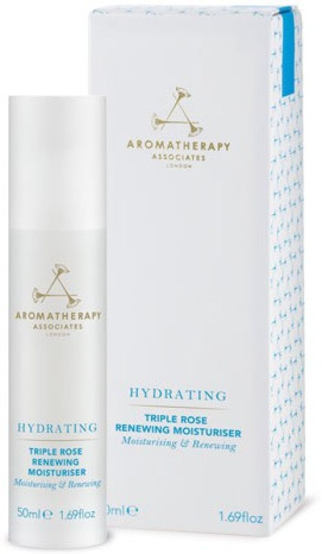 Aromatherapy Associates Hydrating Triple Rose Renewing Moisturiser(50 ml)