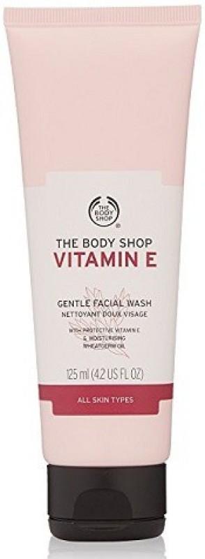 The Body Shop Vitamin E Gentle Facial Face Wash(125 ml)