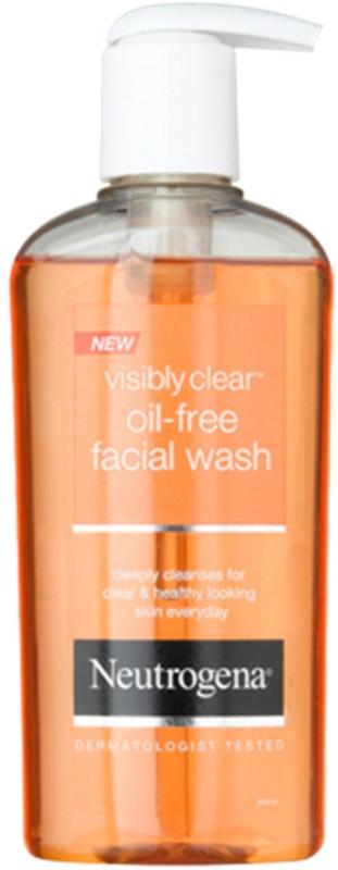 Neutrogena Visibly Clear Oil-free Facial Wash Face Wash(200 ml)