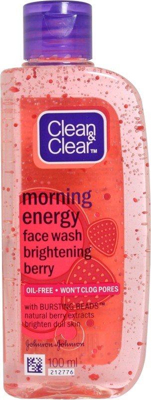 Clean & Clear Morning Energy - Brightening Berry Face Wash(100 ml)