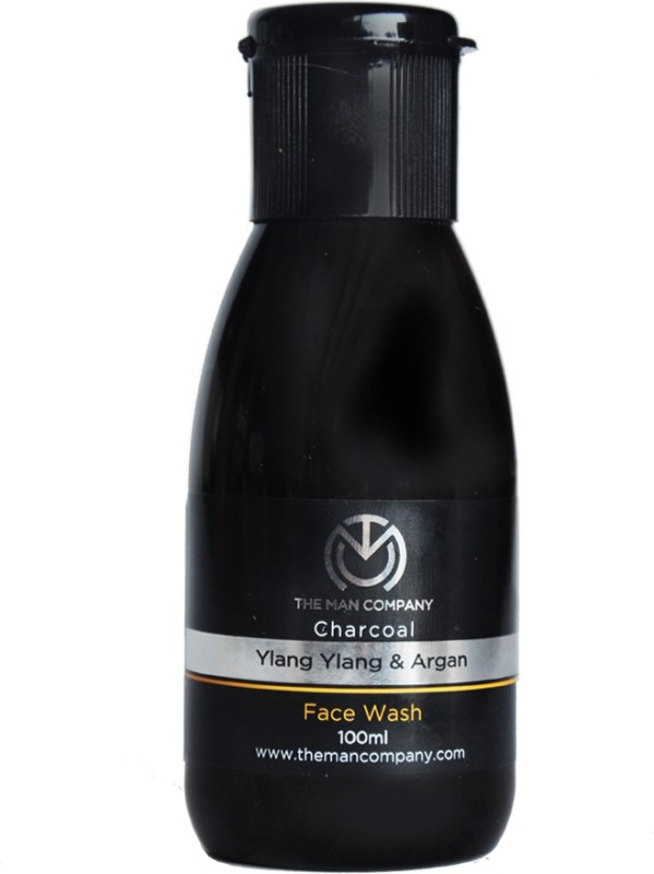 The Man Company Charcoal Face Wash with Ylang Ylang & Argan Essential Oils Face Wash(100 ml)