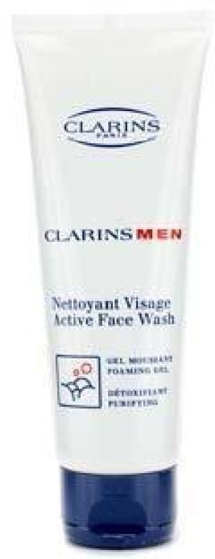 Clarins Men Active Face Wash (Foaming Gel, Purifying) Face Wash(125 ml)