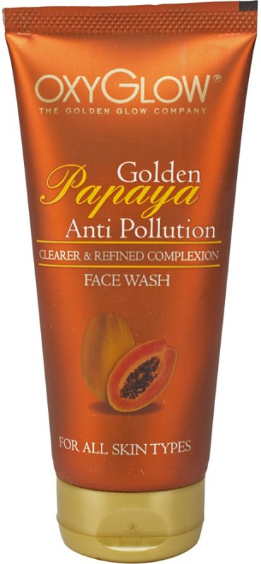 Oxyglow Golden Glow Papaya Anti Pollution Face Wash(100 ml)