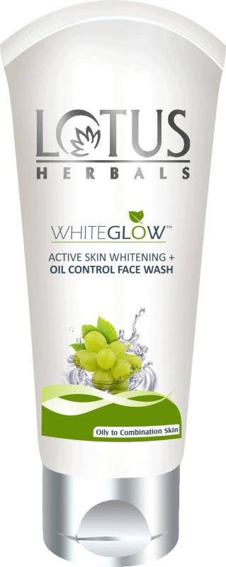 Lotus HERBALS WHITEGLOW ACTIVE SKIN WHITENING + OIL CONTROL Face Wash(100 g)