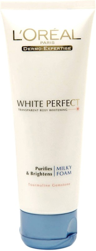 LOreal Paris White Perfect Purifying & Brightening Milky Foam Face Wash(99 ml)