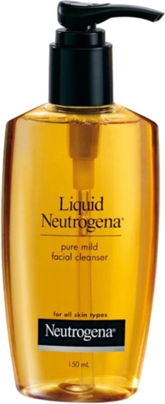 Neutrogena Liquid Pure Mild Facial Cleanser(150 ml)