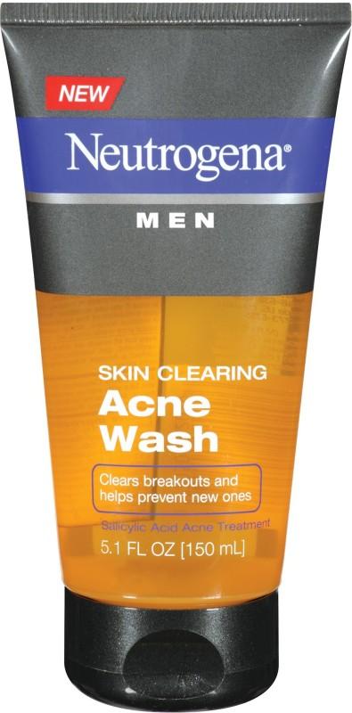 Neutrogena Skin Clearing Acne Wash Imported Face Wash(151 ml)