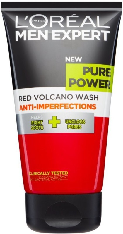 LOreal Paris Pure Power Anti-Imperfections Red Volcano Wash Face Wash(150 ml)