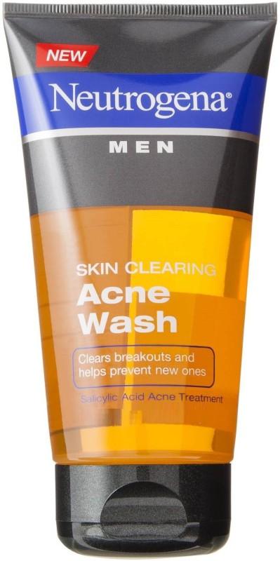 Neutrogena Mens Skin Clearing Acne Face Wash(149 ml)