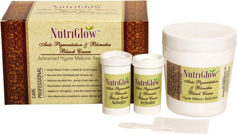 NutriGlow Anti-Pigmentation & Blemishes Bleach Cream(300 g)