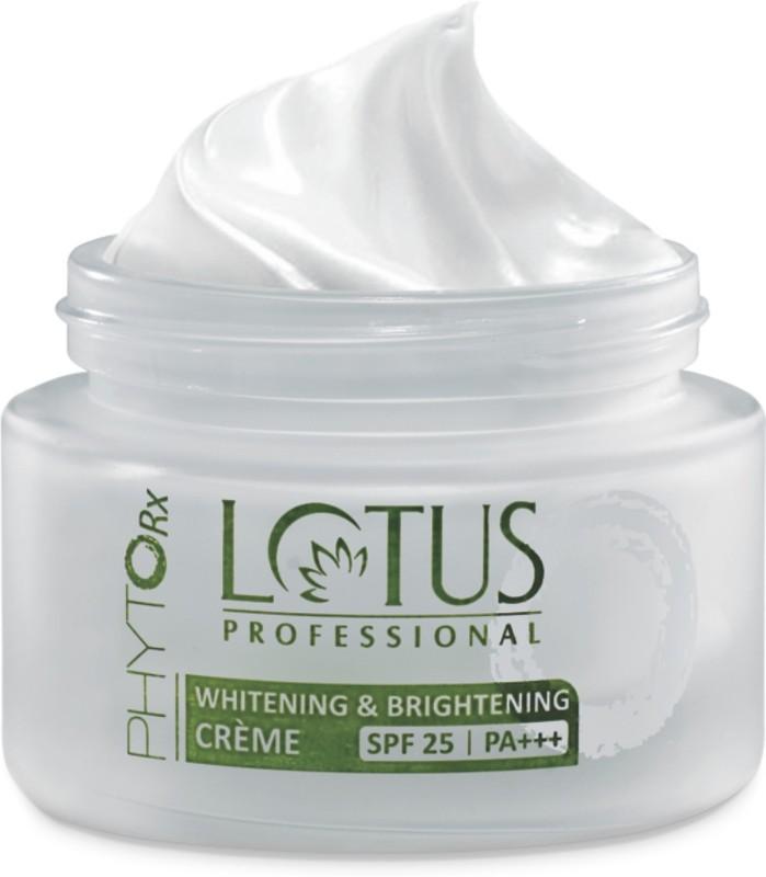 Lotus PROFESSIONAL PHYTO-Rx Whitening & Brightening CREME SPF-25 | PA+++(50 g)
